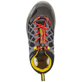 Salewa Wildfire Waterproof Hiking Shoes Junior carbon/flame